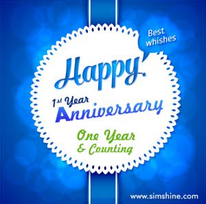 Happy Anniversary Simshine
