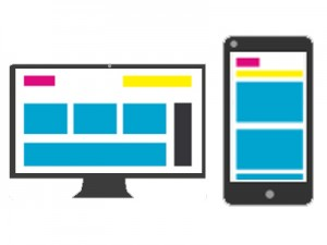 Responsive website -fit in one coloumn