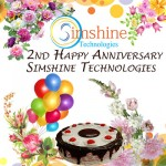 2nd Happy Anniversary Simshine Technologies